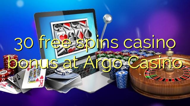 30 Freispiele Casino Bonus bei Argo Casino