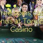 30 free spins casino bonus at TonyBet Casino