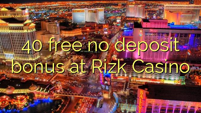 rizk casino no deposit bonus code
