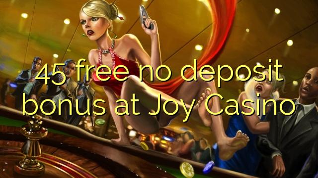 joy casino no deposit bonus codes