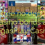 45 free no deposit casino bonus at VegasPlay Casino