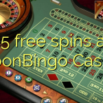 45 free spins at MoonBingo Casino