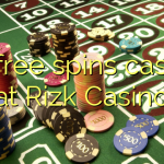 45 free spins casino at Rizk Casino