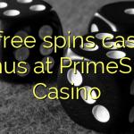 45 free spins casino bonus at PrimeSlots Casino