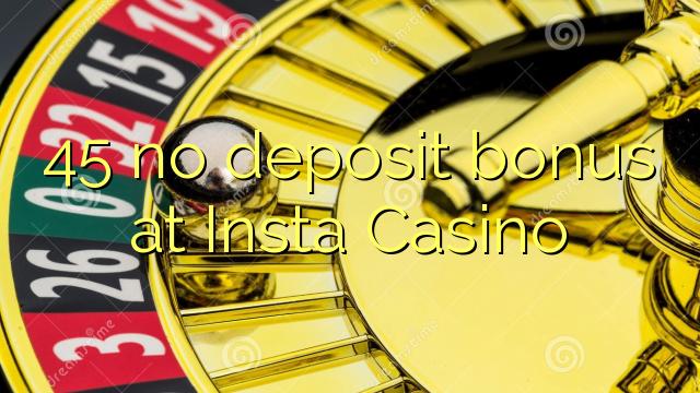 insta casino no deposit bonus codes
