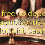50 free no deposit casino bonus at SlotJoint Casino