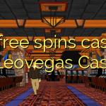 50 free spins casino at Leovegas Casino