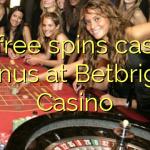 50 free spins casino bonus at Betbright Casino