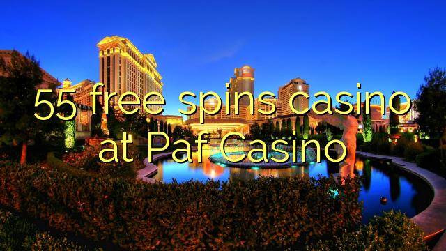 55 senza spins Casinò à paf Casino