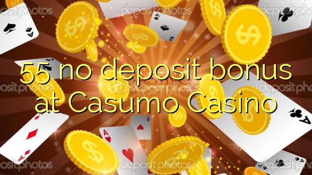 55 no deposit bonus at Casumo Casino