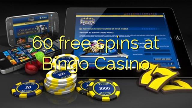 60 gratis spins på Bingo Casino