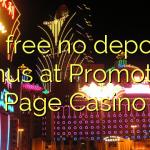 65 free no deposit bonus at Promotion Page Casino