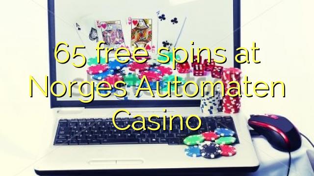 65 putaran percuma di Norges Automaten Casino