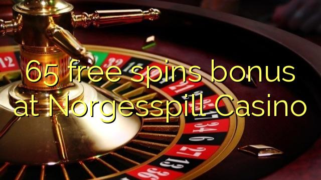 65 tasuta keerutab boonus Norgesspill Casino