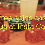 65 free spins casino bonus at Insta  Casino