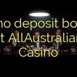 65 no deposit bonus at AllAustralian Casino