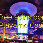70 free spins bonus at Playamo Casino