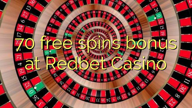 70 tasuta keerutab boonus Redbet Casino