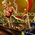 70 free spins bonus at Silk Casino