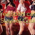 70 free spins casino at Staybet Casino