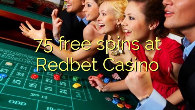 75 putaran percuma di Redbet Casino