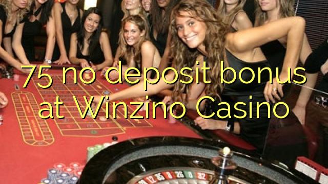 75 žiadny bonus vklad na Winzino kasíne