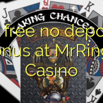 80 free no deposit bonus at MrRingo Casino