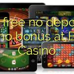 80 free no deposit casino bonus at Bertil Casino