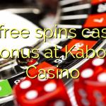 80 free spins casino bonus at Kaboo Casino