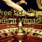 80 free spins casino bonus at VegasPlay Casino