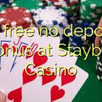 85 free no deposit bonus at Staybet Casino