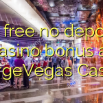 85 free no deposit casino bonus at NorgeVegas Casino