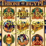85 free spins bonus at SlottyVegas Casino