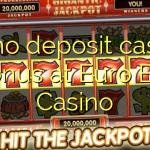 85 no deposit casino bonus at Euro Bet Casino