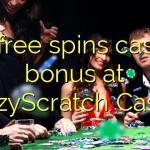 90 free spins casino bonus at CrazyScratch Casino
