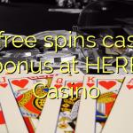 90 free spins casino bonus at HERE Casino