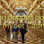 95 no deposit bonus at Mybet Casino