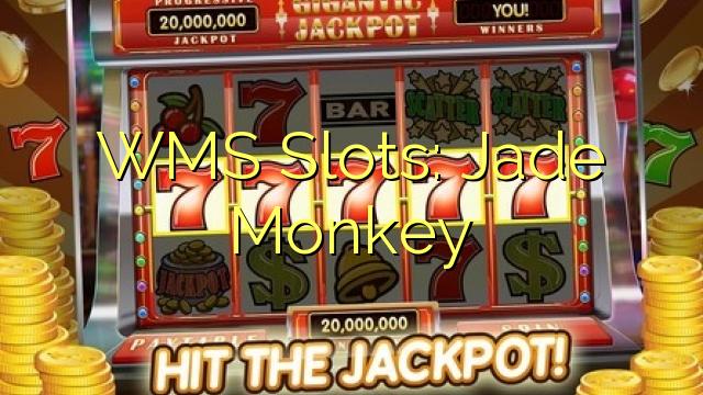 WMS sloty: Jade Monkey