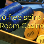 100 free spins at Room Casino