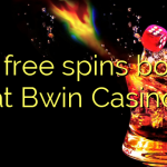 100 free spins bonus at Bwin Casino
