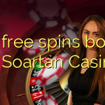 105 free spins bonus at Soartan Casino
