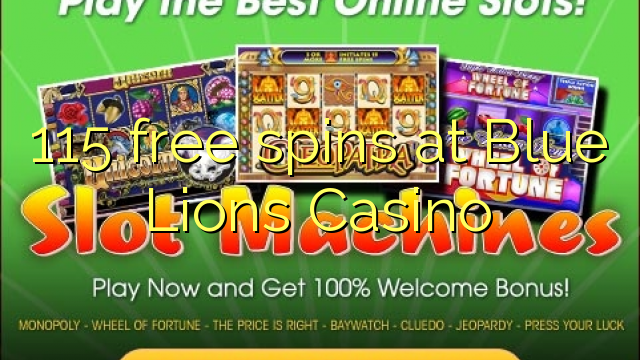 blue lions casino no deposit code