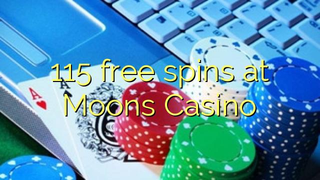 115 δωρεάν περιστροφές στο καζίνο Moons