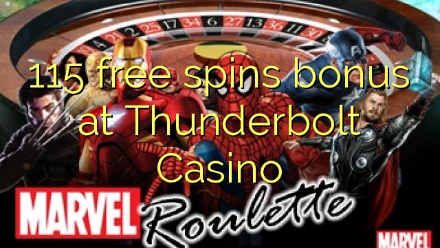 no deposit bonus code for thunderbolt casino