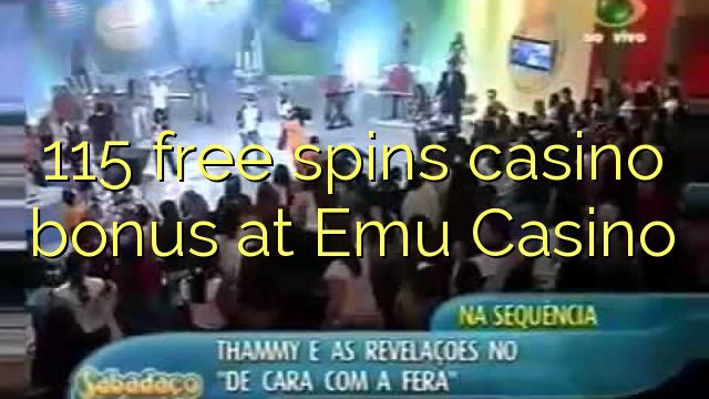 115 озод spins бонуси казино дар Emu Казино