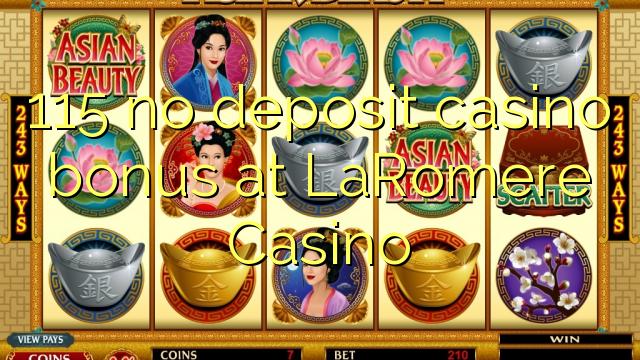 LaRomere Casino இல் எந்த வைப்பு காசினோ போனஸ் இல்லை
