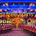 120 free spins at Aztec Riches Casino