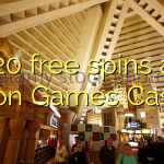 120 free spins at Moon Games Casino