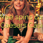 120 free spins casino at Caesars Casino