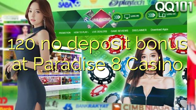 paradise8 casino no deposit bonus